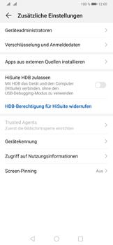Huawei P30 Pro - Startanleitung - So aktivieren Sie eine SIM-PIN - Schritt 5