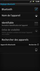 Sony LT22i Xperia P - Bluetooth - connexion Bluetooth - Étape 10