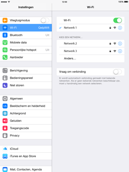 Apple iPad Air iOS 8 - Wifi - handmatig instellen - Stap 7