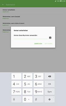 Samsung Galaxy Tab A 10-1 - Anrufe - Rufumleitungen setzen und löschen - Schritt 10