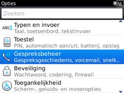 BlackBerry 9780 Bold - Voicemail - Handmatig instellen - Stap 4