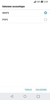 LG Q6 (M700) - E-mail - Account instellen (IMAP met SMTP-verificatie) - Stap 9