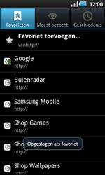 Samsung i5800 Galaxy Apollo - Internet - Hoe te internetten - Stap 9