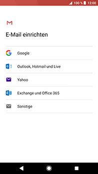 Sony Xperia XZ2 Premium - E-Mail - Konto einrichten (gmail) - Schritt 8