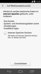 Huawei Ascend P7 - Fehlerbehebung - Handy zurücksetzen - Schritt 8