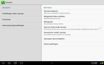 Samsung P5100 Galaxy Tab 2 10-1 - Voicemail - Handmatig instellen - Stap 5