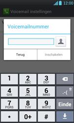 LG P700 Optimus L7 - Voicemail - handmatig instellen - Stap 8