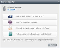 Samsung I8000 Omnia II - Software - PC-software installeren - Stap 19