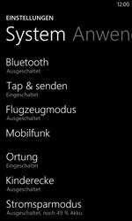 Nokia Lumia 1020 - Netzwerk - Netzwerkeinstellungen ändern - Schritt 4