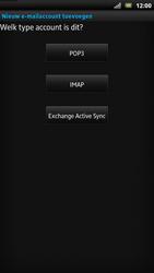Sony LT22i Xperia P - E-mail - Handmatig instellen - Stap 7