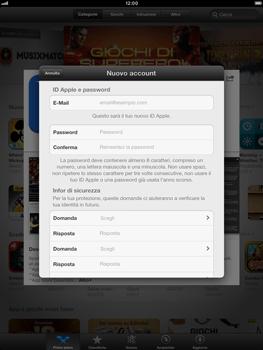Apple iPad mini - Applicazioni - Configurazione del negozio applicazioni - Fase 12