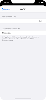 Apple iPhone XS Max - iOS 13 - E-mail - Configuration manuelle - Étape 20