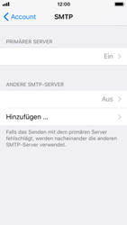 Apple iPhone SE - E-Mail - Konto einrichten - 22 / 30
