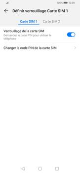 Huawei P Smart Z - Sécurité - modifier SIM PIN - Étape 7