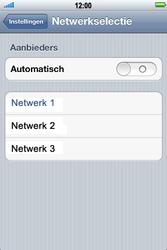 Apple iPhone 4 S - Netwerk - gebruik in het buitenland - Stap 7