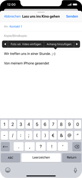 Apple iPhone XS Max - E-Mail - E-Mail versenden - 10 / 16
