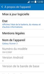 Samsung G388F Galaxy Xcover 3 - Appareil - Mises à jour - Étape 6