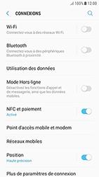 Samsung Galaxy J3 (2017) - Internet et connexion - Partager votre connexion en Wi-Fi - Étape 5