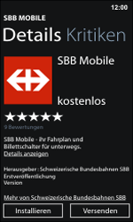 Nokia Lumia 800 / Lumia 900 - Apps - Installieren von Apps - Schritt 14