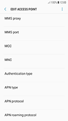 Samsung A320F Galaxy A3 (2017) - Android Oreo - MMS - Manual configuration - Step 11