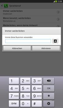 Samsung T211 Galaxy Tab 3 7-0 - Anrufe - Rufumleitungen setzen und löschen - Schritt 10
