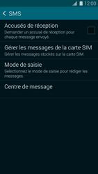 Samsung G900F Galaxy S5 - SMS - Configuration manuelle - Étape 7