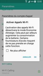 Samsung Galaxy S 5 - WiFi - Activez WiFi Calling - Étape 7