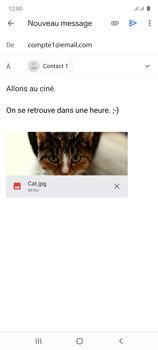 Samsung Galaxy Note 10 Lite - E-mails - Envoyer un e-mail - Étape 16