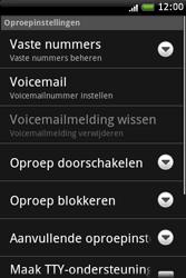 HTC A6262 Hero - Voicemail - Handmatig instellen - Stap 5