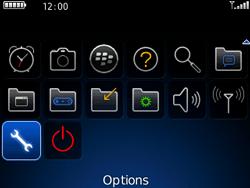 BlackBerry 8520 - Aller plus loin - Restaurer les paramètres d'usines - Étape 3