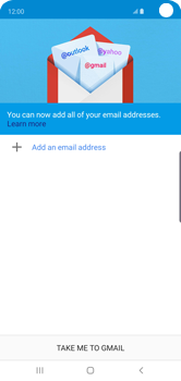Samsung Galaxy S10 - E-mail - 032a. Email wizard - Gmail - Step 6