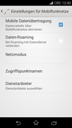 Sony D2203 Xperia E3 - Ausland - Im Ausland surfen – Datenroaming - Schritt 8