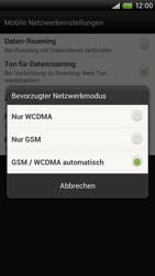 HTC One X - Netzwerk - Netzwerkeinstellungen ändern - 6 / 7