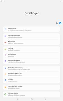 Samsung galaxy-tab-a-10-5-sm-t595-android-pie - Beveiliging en ouderlijk toezicht - Hoe wijzig ik mijn SIM PIN-code - Stap 4