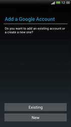 HTC One S - Applications - Setting up the application store - Step 5