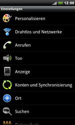 HTC Desire S - Internet - Apn-Einstellungen - 4 / 18