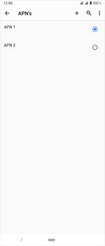 Sony Xperia 1 - Internet - handmatig instellen - Stap 20