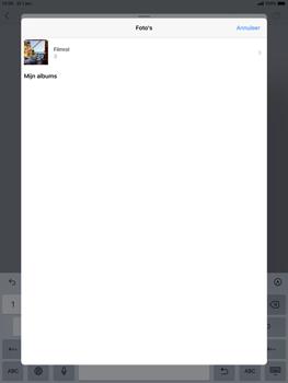 Apple iPad Air (2019) - iPadOS 13 - E-mail - e-mail versturen - Stap 10