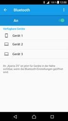 Sony Xperia Z5 (E6653) - Android Nougat - Bluetooth - Geräte koppeln - Schritt 8