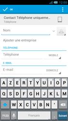Bouygues Telecom Bs 471 - Contact, Appels, SMS/MMS - Ajouter un contact - Étape 6