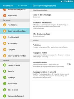 Samsung Galaxy Tab A - Sécuriser votre mobile - Activer le code de verrouillage - Étape 4