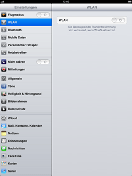 Apple iPad mini - Ausland - Auslandskosten vermeiden - 5 / 7