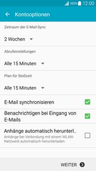 Samsung N910F Galaxy Note 4 - E-Mail - Konto einrichten (yahoo) - Schritt 8