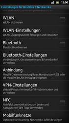 Sony Xperia S - Ausland - Auslandskosten vermeiden - Schritt 7