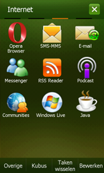 Samsung I8000 Omnia II - Internet - Handmatig instellen - Stap 18