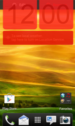 HTC Desire X - Getting started - Installing widgets and applications on your start screen - Step 8