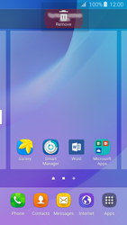 Samsung Samsung Galaxy J3 2016 - Getting started - Installing widgets and applications on your start screen - Step 8