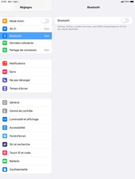 Apple iPad Air (2019) - iPadOS 13 - Bluetooth - Jumeler avec un appareil - Étape 4