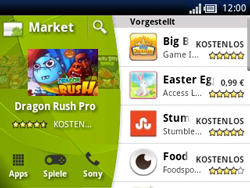 Sony Ericsson Xperia X10 Mini Pro - Apps - Herunterladen - Schritt 4