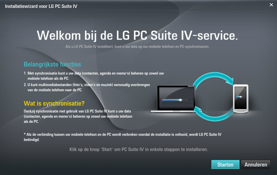 LG E975 Optimus G - Software - Download en installeer PC synchronisatie software - Stap 9